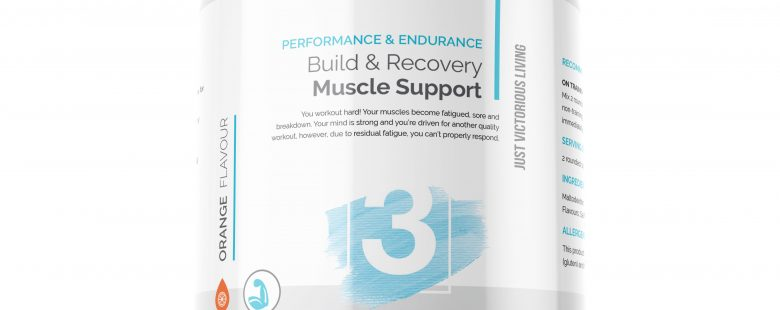 JVL Build & Recovery Muscle Support